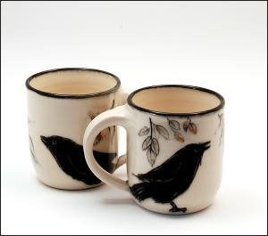 pine-ridge-raven-mugs