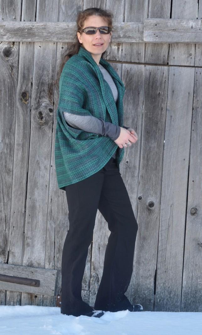 pleated-shawl