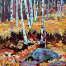 Roadside Birches