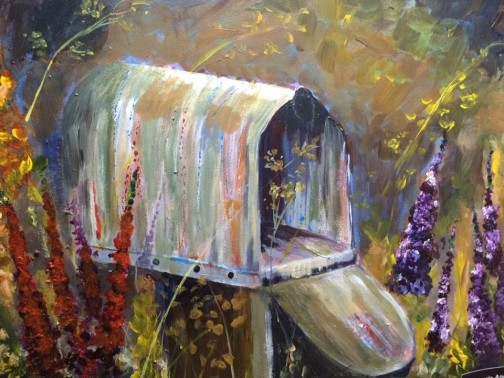 laurieanderson mailbox painting