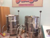 Penny's Fudge making equipment