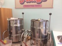 Penny's Fudge making equipment