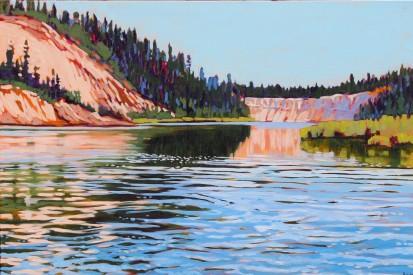 Barb_Sohn_Kayaking on the Yukon River