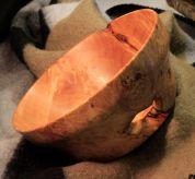 CR Maple Burl bowl