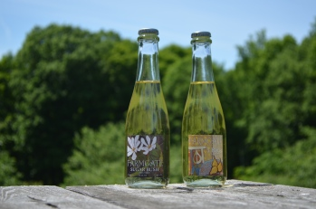 Farmgate cider in bottles