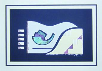 Karen Bernard Medow Music_Paper Sculpture Relief