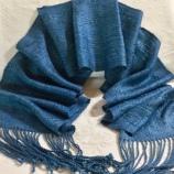 susan Allen woven scarf
